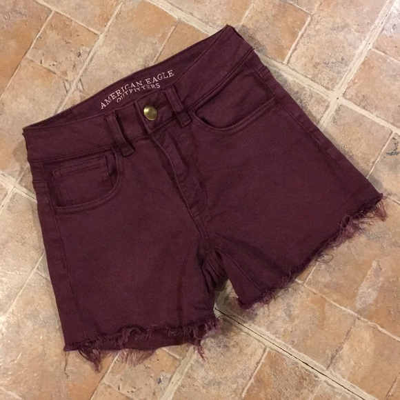 American Eagle Outfitters Pants - American Eagle high waisted jean shorts size 00